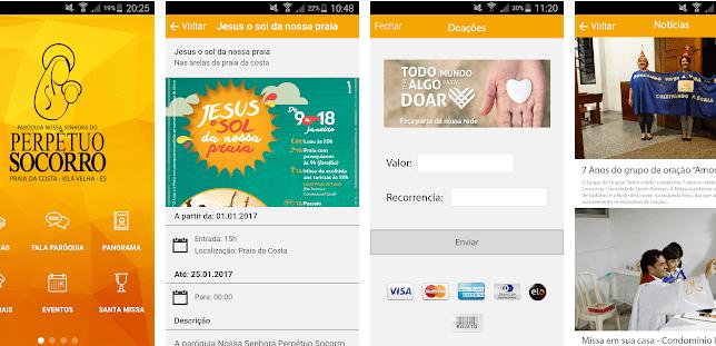 Aplicativos Católicos: Paróquia Nossa Senhora do Perpétuo Socorro