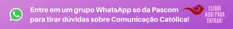 Convite grupo WhatsApp