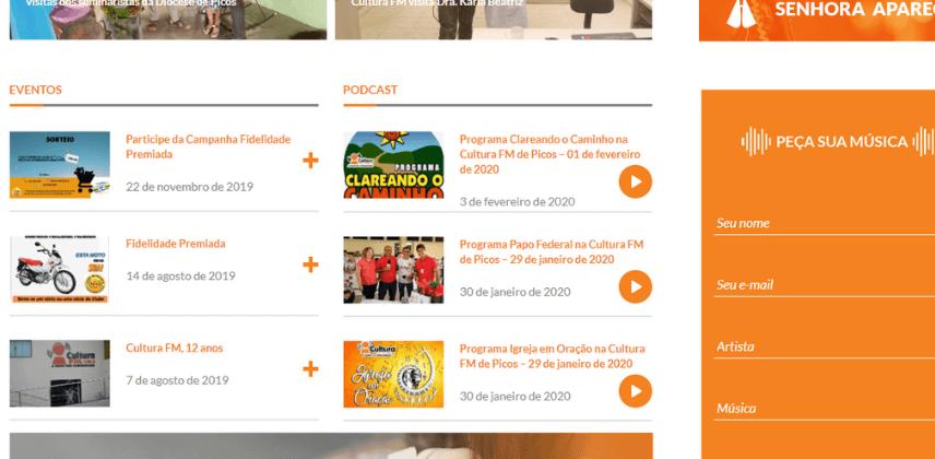 Sites católicos e Arrecadação do Dízimo Online - Rádio Cultura FM de Picos
