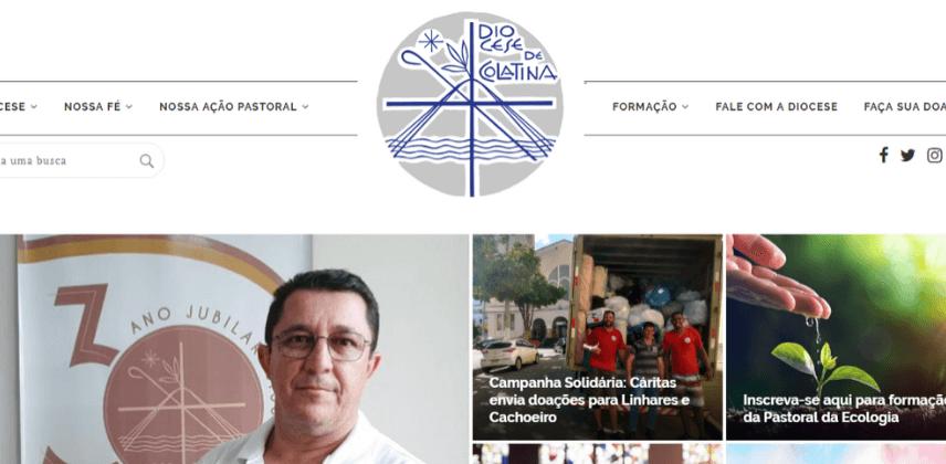 Arrecadação do Dízimo Online - Diocese de Colatina