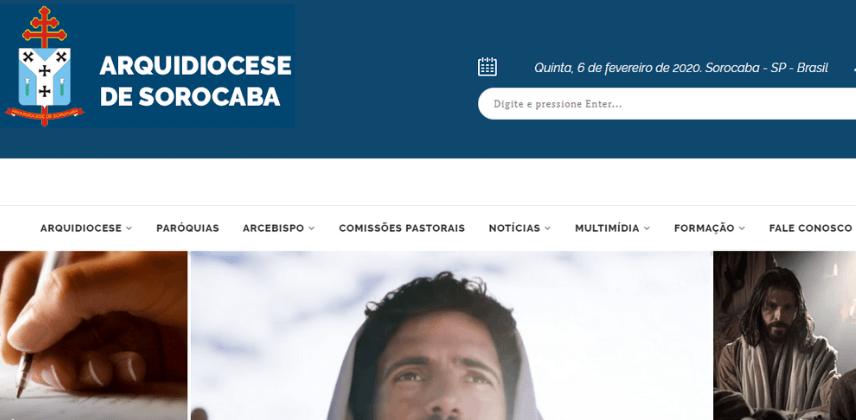 Sites católicos e Arrecadação do Dízimo Online - Arquidiocese de Sorocaba