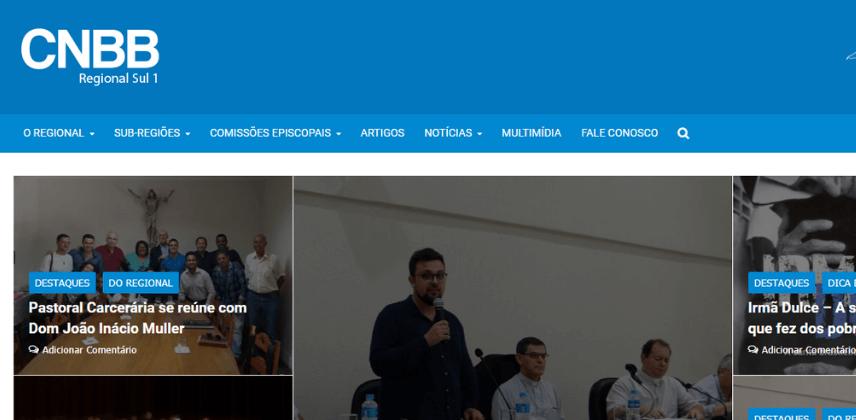 Sites católicos e Arrecadação do Dízimo Online - CNBB Regional Sul 1